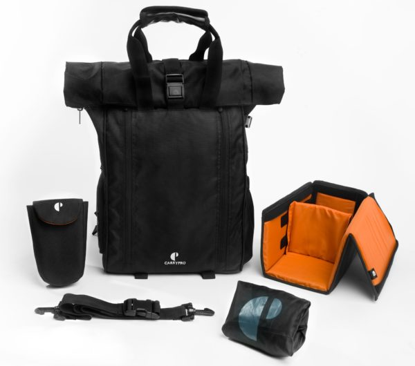 carrypro hobo25 travel camera laptop bag