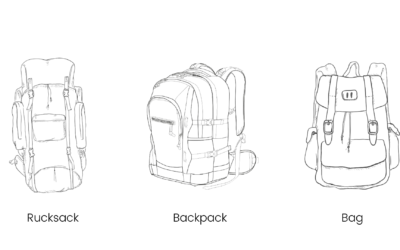 Is it called Rucksack or Backpack? Know the right differences